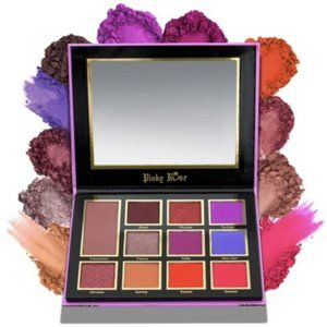 Pinky Rose Luscious Plum eyeshadow palette NIB